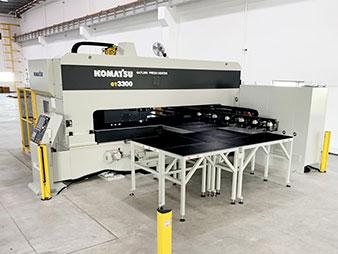 Máy Gatling Press Center GT3300
