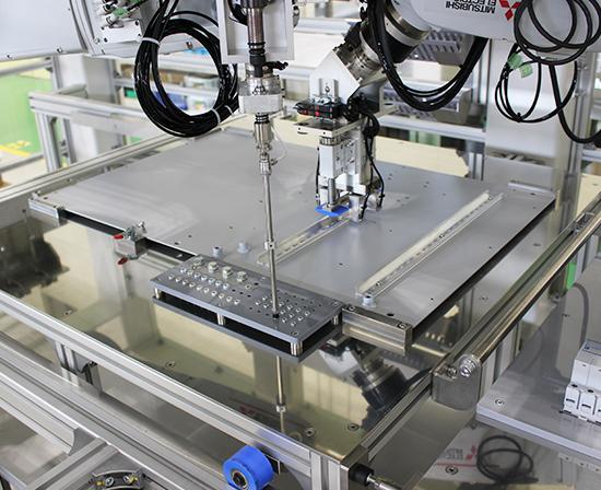 ロボットによる部品取付システムのメリット